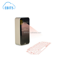 Easy to carry portable pocket bluetooth wireless laser projection keyboard