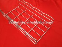 Electrical galvanized wire basket cable tray supplier