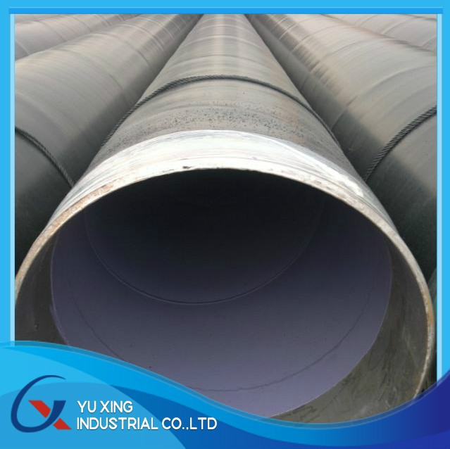 two layer fusion bonded expoxy anti-corrosion welded steel pipe