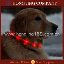 Hot new products for 2015 Led rechargeable pet collar