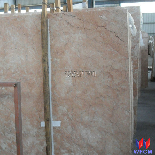 Beautiful Natural Stone Diana Rose Red Marble Slab