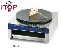 single plate electric crepe making machine