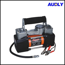 AC1009 Portable Automatic Tyre Inflator with Pressure Gauge All Metal Air Compressor