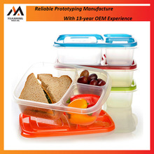 Injection Mold Maker Eco-friendly Medical/Foodgrade Plastic Food Container