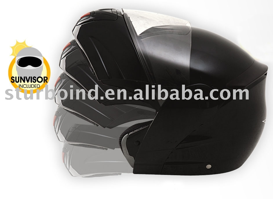 flip-up motorcycle helmet