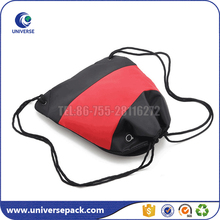 Promotional polyester drawstring soccer shoe bag
