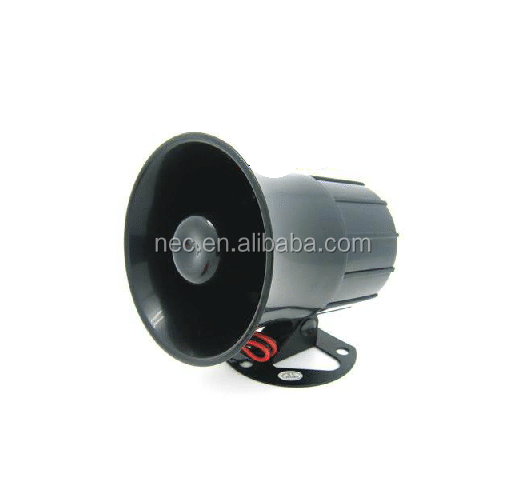 Car reversing alarm, 6 tone car alarm siren and 12v electric car horn