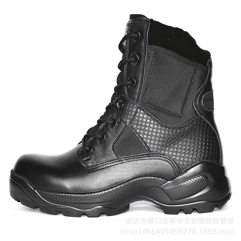 Durability Military Performance Vulcanized Rubber Sole shoes Jungle Boots for Army