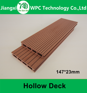 New Material Wood Plastic Composite Outdoor Decking