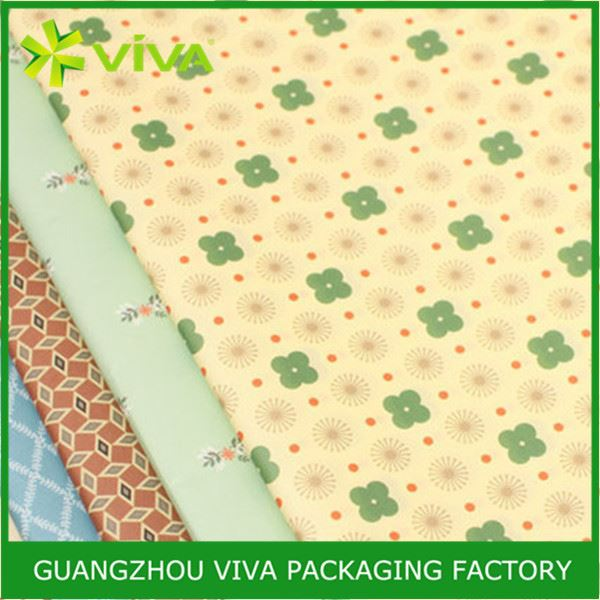 Wholesele Latest Design crepe wrapping paper