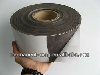 Rubber magnetic strip/3m magnetic strip/magnetic rubber strips