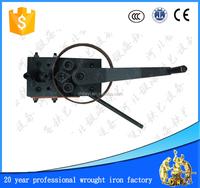 small manual wrought iron angle circle arc bending machine manual scroll bending machine