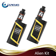 2016 Wholesale 100% Original 220W High Wattage 3ml SMOK Alien Kit with TFV8 Baby