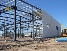 Modern prefab steel structure building prefabricated warehouse in thailand