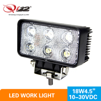 HOT SALE 18W C REE LED Work Light Off Road Lights Fog Driving Lamp Flood Beam For Truck