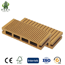 WPC 140*22 mm invisible fastening outdoor wood plastic composite flooring