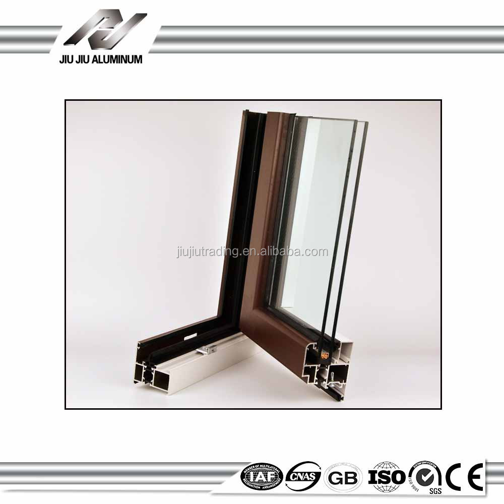 Heat Insulation aluminum window frame covers