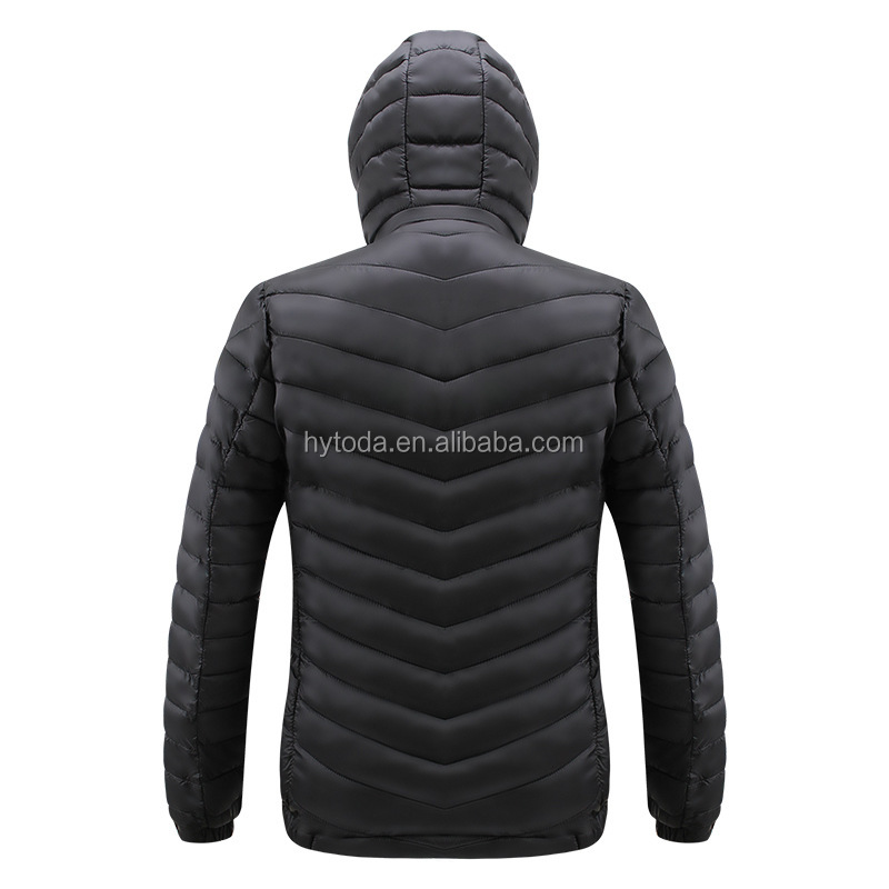 Men's Winter Thicken Warm Casual Puffer Jacket
