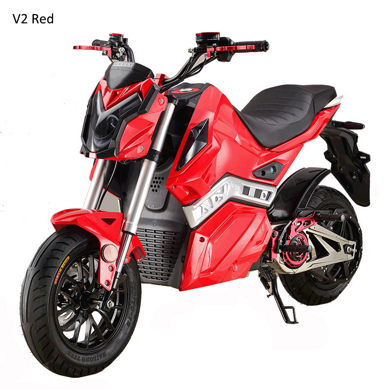 2018 Taizhou Racing High Power Adult Electric Motorcycle