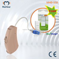 hearing aids china MHB-058 with Free Mini Charger