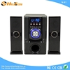 new design blue 2.1 subwoofer home theater bass speaker with fm radio stereo sound sytem audio N-23