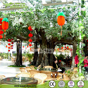 Ecological Canteen Decoration Simulation Big Old Banyan Tree