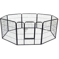 2016 hot salelarge dog run chain link animal cage/soft portable garden dog fence panel
