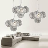 hot sell popular modern crystal ball hanging ceiling pendant