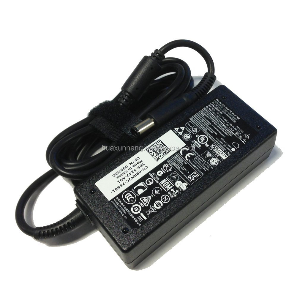 AC laptop charger for Dell 65W 19.5V 3.34A 7.4*5.0mm PA-12 PA12 65W M5030 N4010 N5010 AC Charger Adapter Power Supply.