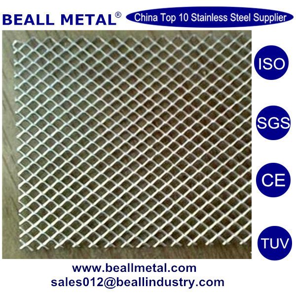 stainless steel SS perforated plate 347 2507 316Ti ASTM A240