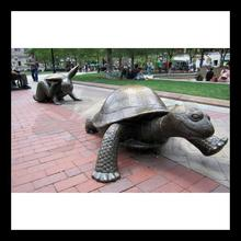 high quality bronze dolphin and turtles water fountains
