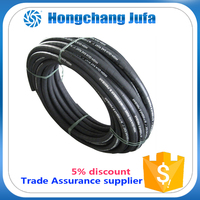 high pressure hydraulic felxible steel wire reinforced rubber hose pipe for oil