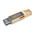 USB3.0 high speed exquisite usb flash drive 16GB 32GB 64GB golden color