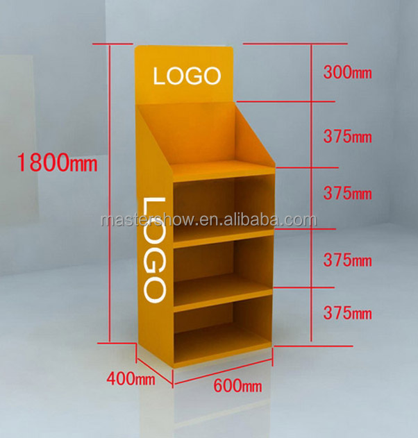 Shopping mall retail snack wooden display shelf