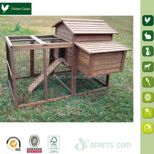 Outdoor Farm Poultry chicken cage with galvanized mesh run