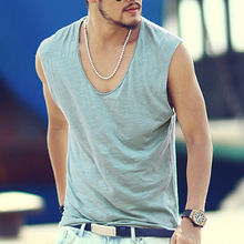New Tank Top Men Undershirt Brand High Quality Men's Vest Casual Clothing Singlets Men's Sleeveless