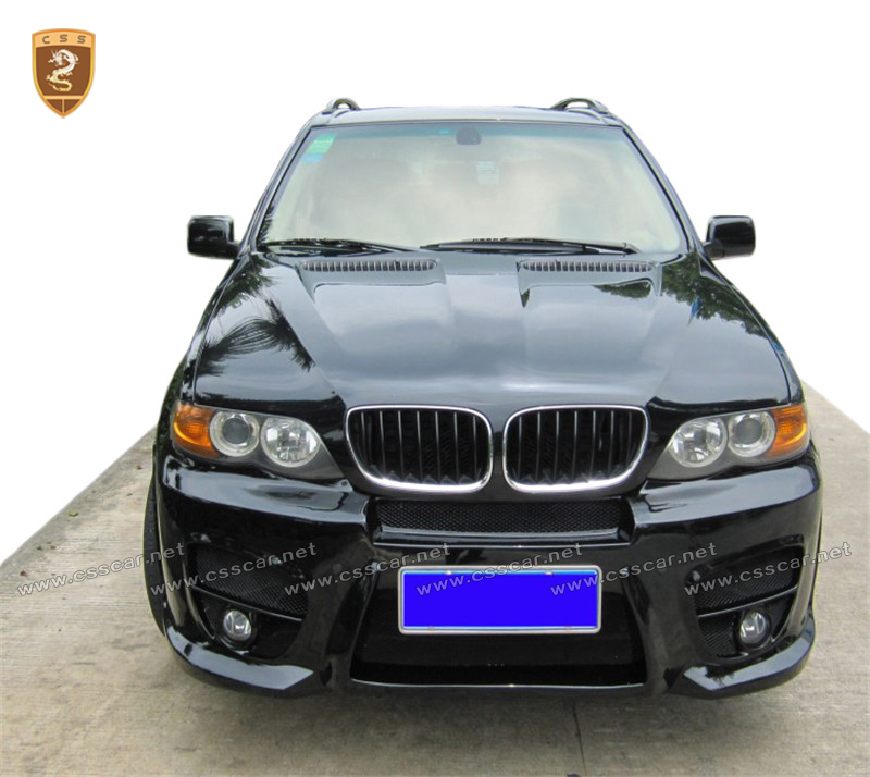 New design Wide Body kit For BMW Fiber glass X5 E53 2004-2008 Style FRP BodyKits