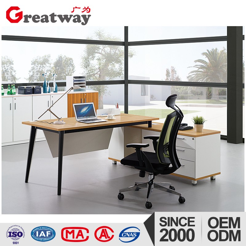 Secretary office luxury godrej steel almirah wooden usb flash desk with library furniture cabinet