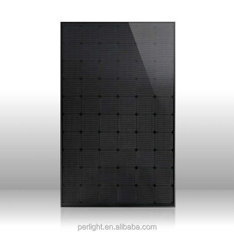 250w monocrystalline solar panel pv module all black with CE TUV for 500W off Grid Solar system