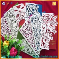 Laser Cut Christmas Cards Handmade Paper Greeting Cards Designs For Wholesale