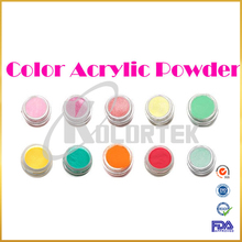 Bulk colorful nail dipping powder, acrylic powder for nails