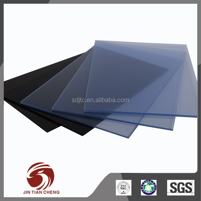 Weld ability 4x8 pvc Transparent plastic sheet thick