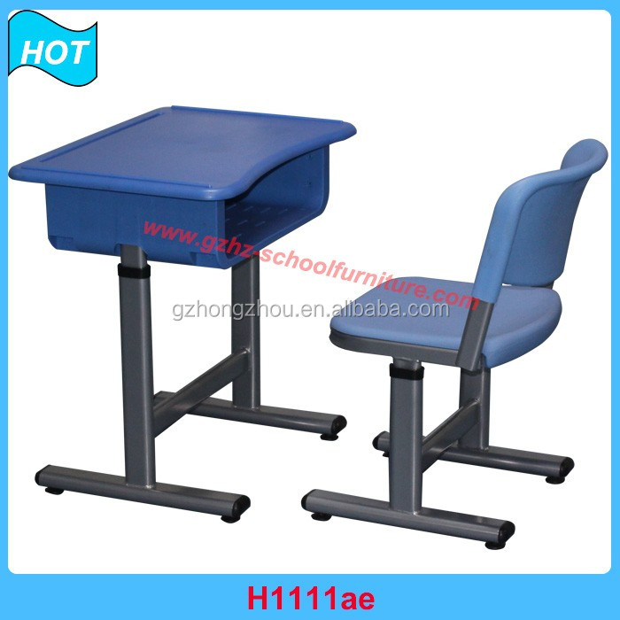 Adjustable School Tables Chair Set For Dubai School Desk Chair UAE