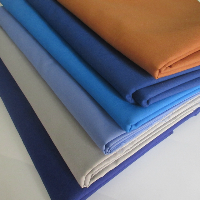 Polyester cotton fabric 65/35 21X21 108X58fabric for workwear
