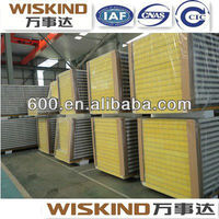 glass wool sandwich panel for prefab house