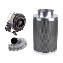 "6"" Hydroponic ventilation kit/inline fan/carbon filter/air duct"