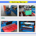 Hot sale high Rib Hydraulic Control System Roofing Sheet Making Machine for India Clients