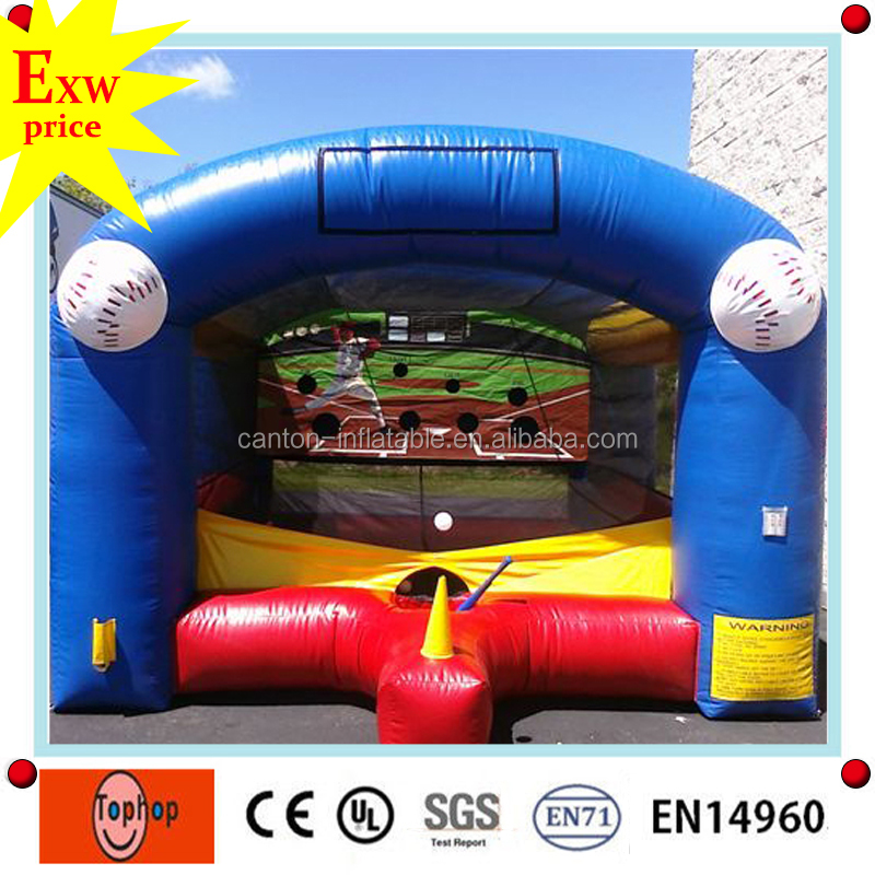 2016 New design inflatable soccer,baseball cage, inflatable batting cage for sale