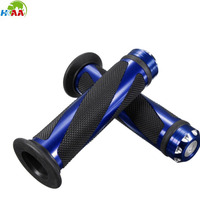 China CNC machining custom aluminum motorcycle Handle bar / hand grips for motorcycle