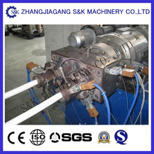 Plastic automatical pvc pipe threading machine